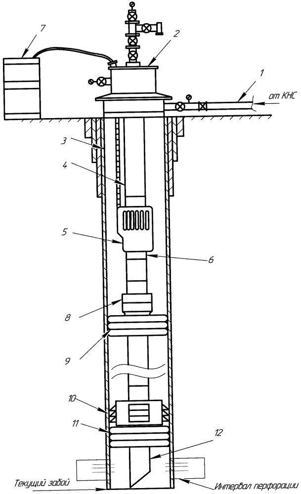 Способ закачки воды в системе поддержания пластового давления в слабопроницаемых коллекторах