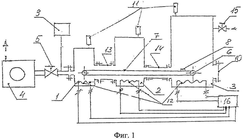 Устройство для испытания полых изделий на герметичность
