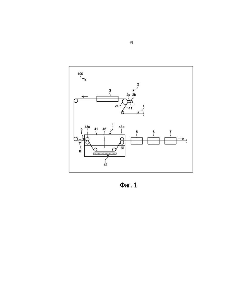 Способ непрерывного электролитического травления полосы электротехнической стали с ориентированной структурой и устройство для непрерывного электролитического травления полосы электротехнической стали с ориентированной структурой