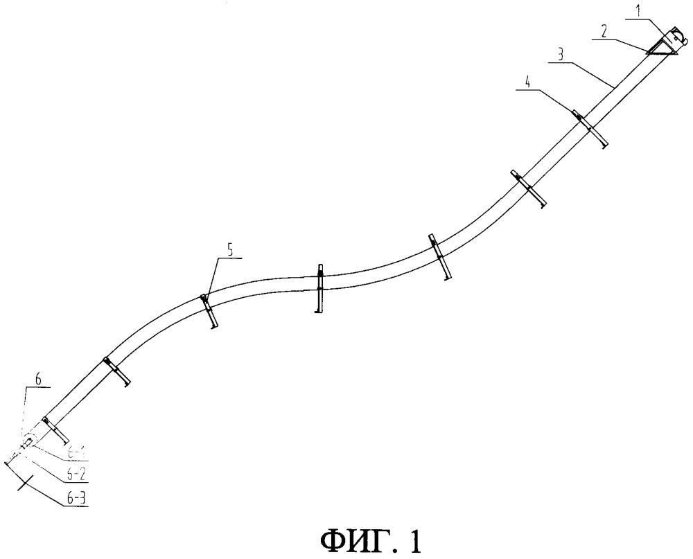 Направляющее устройство троса с ограничением скорости, характеризующееся изменяемым наклоном, и способ направления троса