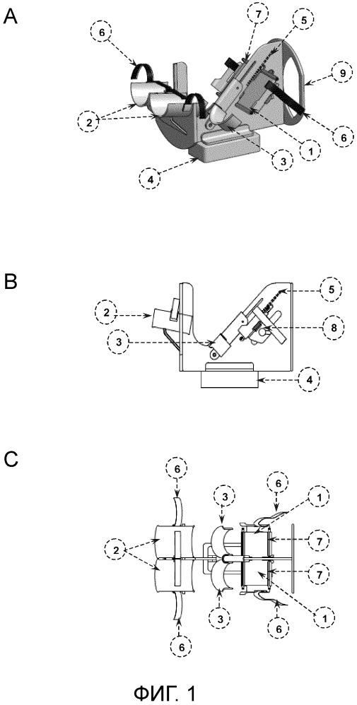 Система позиционирования ступни для исследований по магнитно-резонансной визуализации