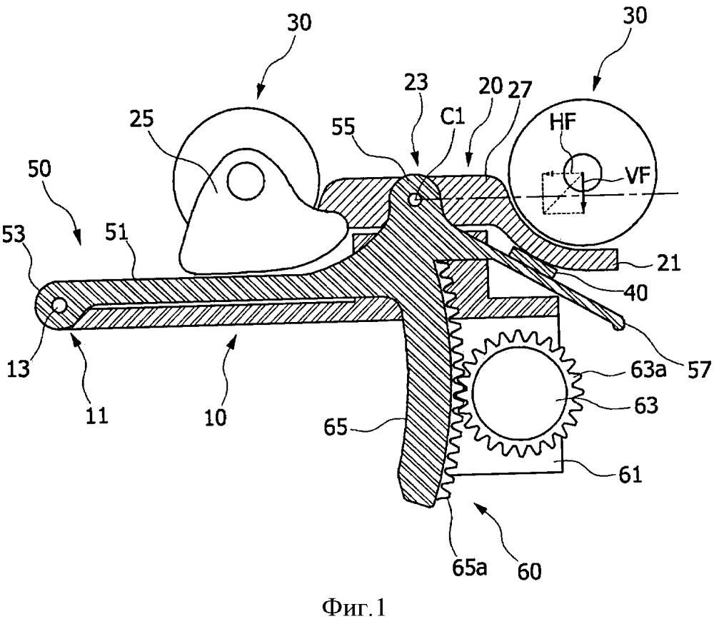 Контактная конструкция для термотерапевтического устройства