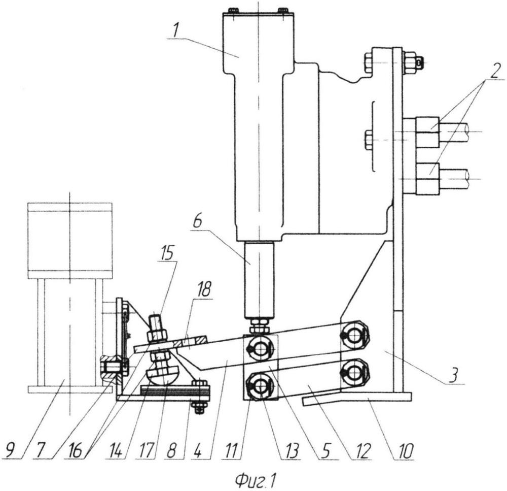Привод автоматического регулятора режимов торможения рельсового транспортного средства
