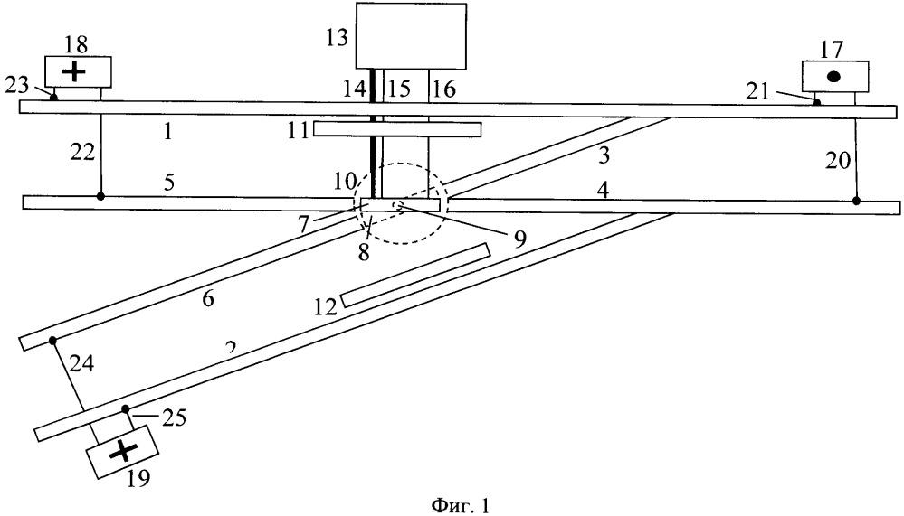 Способ контроля состояний разветвленной рельсовой цепи без изолирующих стыков и дроссель-трансформаторов и устройство для его осуществления