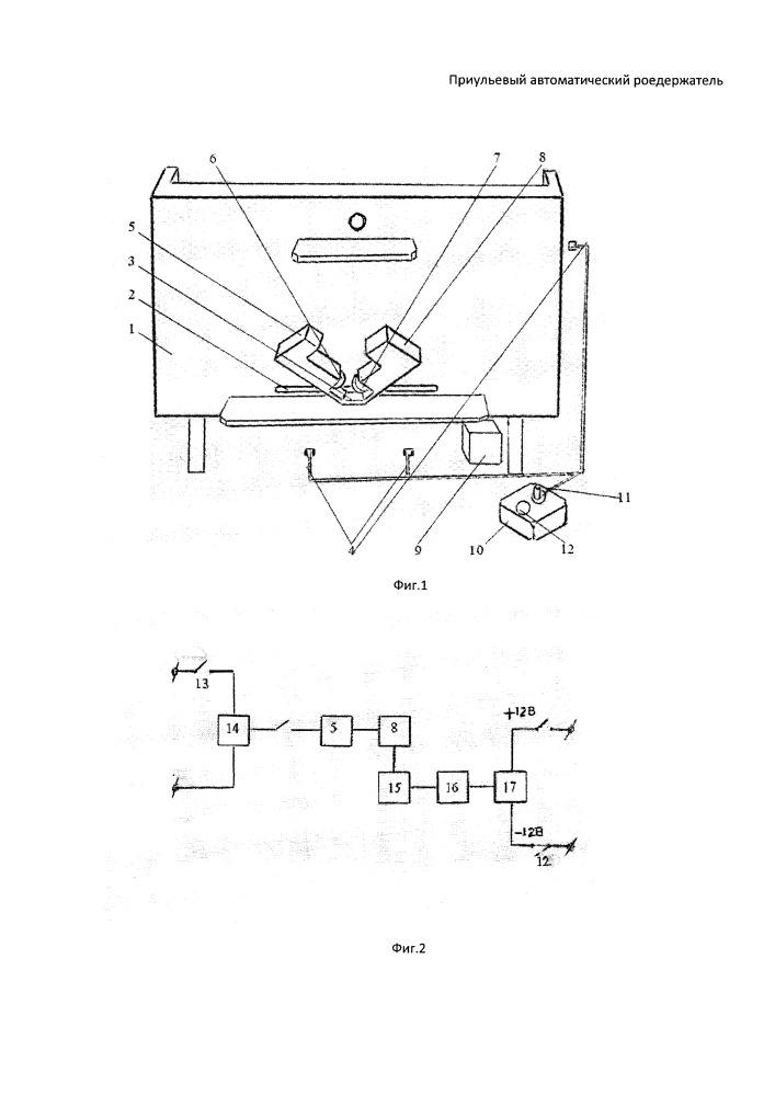 Приульевый автоматический роедержатель