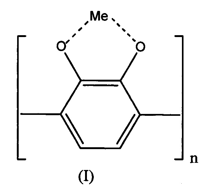 Новые металлокомплексные соединения олигопирокатехина и способ получения катализаторов окисления сернистых соединений на их основе