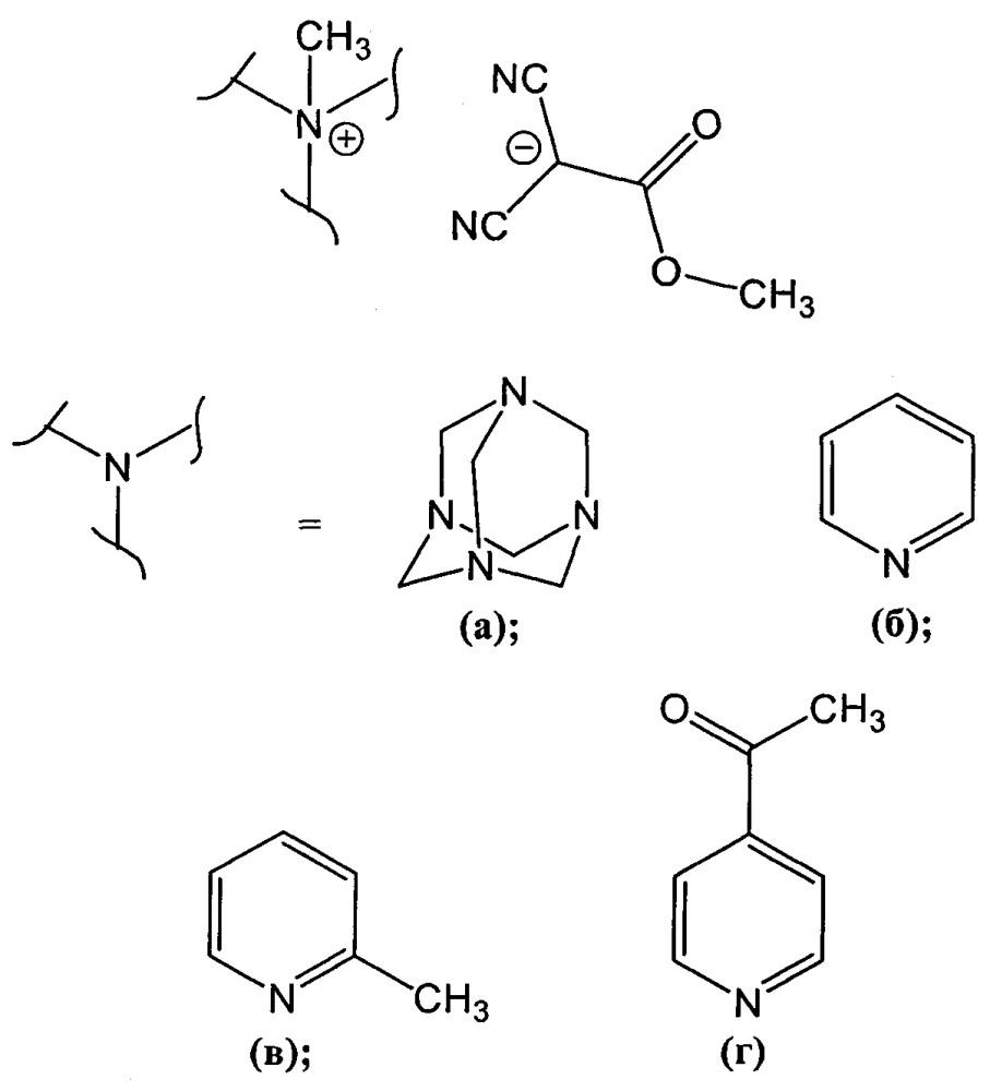 Способ получения четвертичных аммониевых соединений метил дицианоацетата