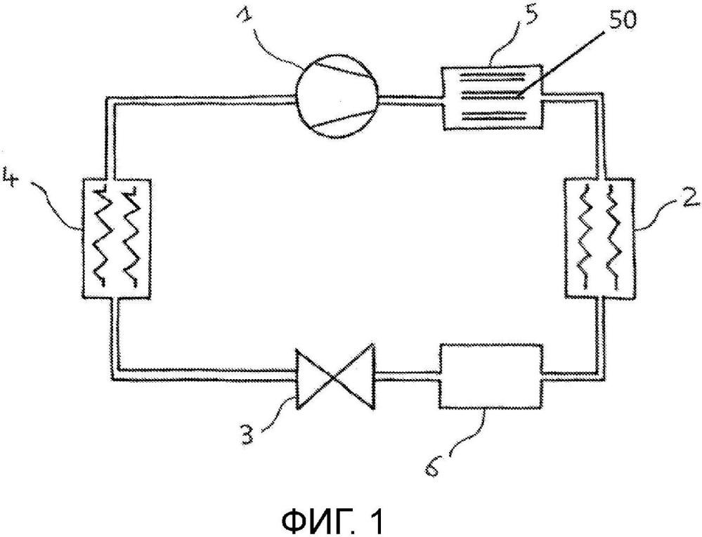 Устройство для использования с хладагентом для повышения термодинамических характеристик