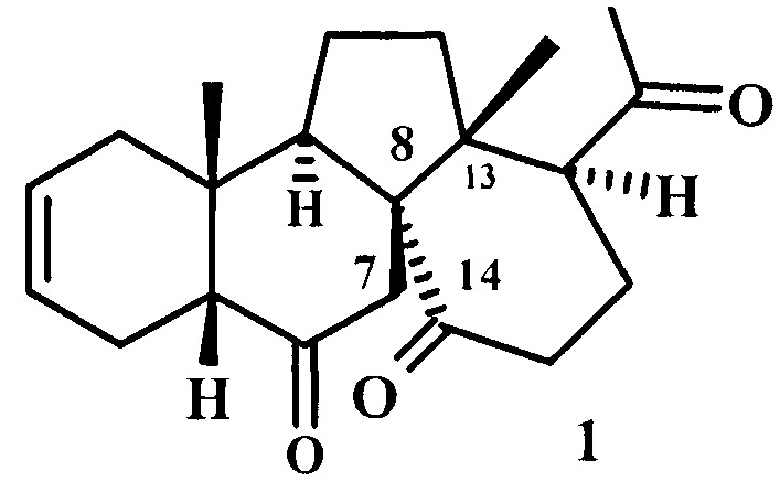 Способ получения (8r)-8,13-цикло-13,14-секо-5β-прегн-2-ен-6,14,20-триона