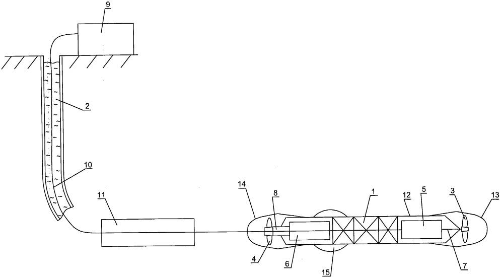 Устройство для доставки приборов в горизонтальную скважину на основе скважинной торпеды