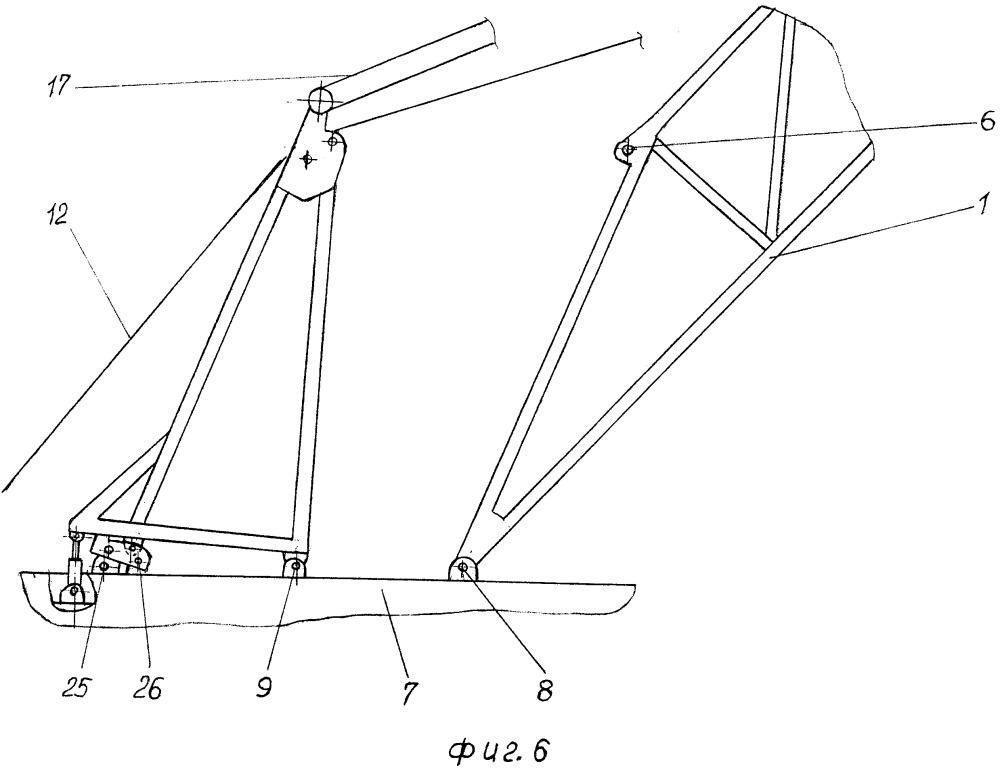 Вышечно-лебедочный блок буровой установки с встроенным устройством для подъема вышки