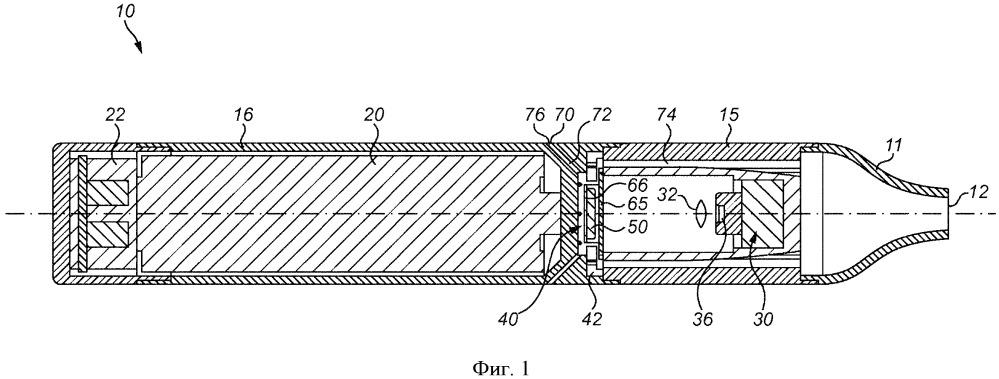 Изделие и устройство для генерирования аэрозоля