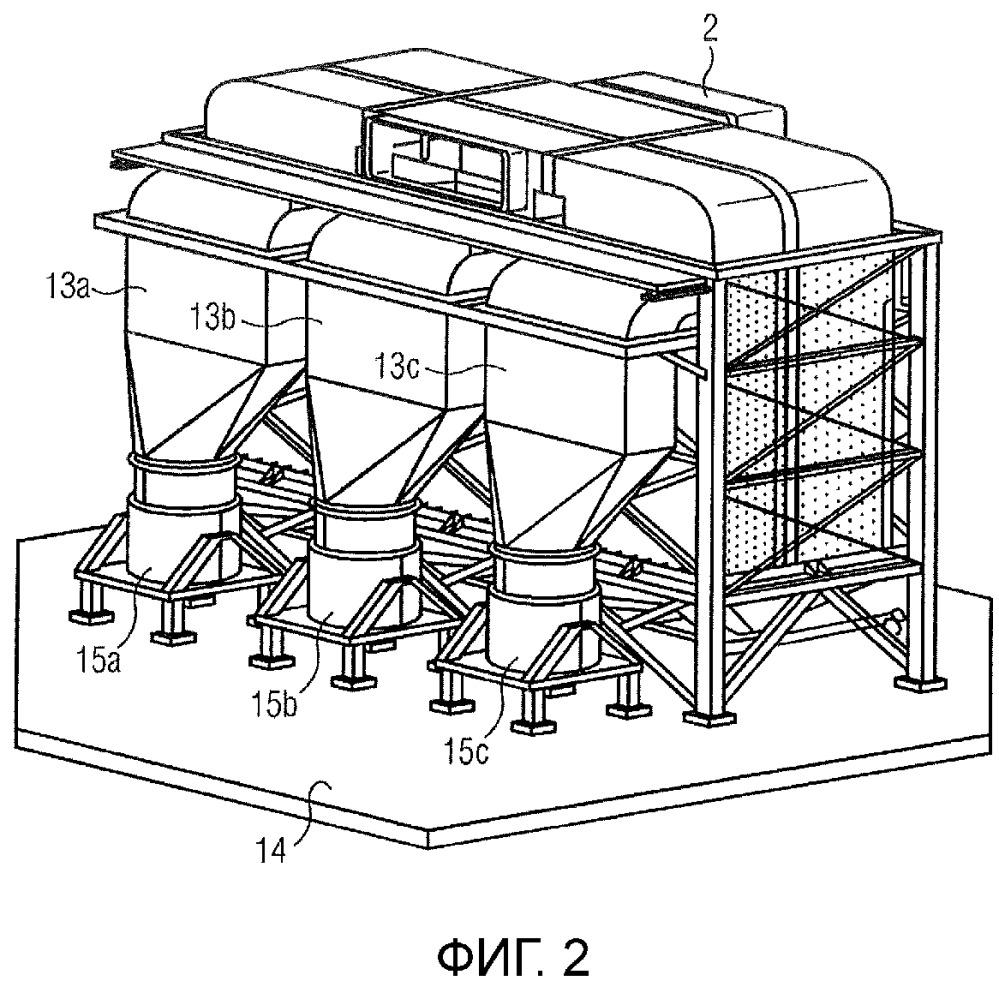 Противоточный теплообменник для запыленного отходящего газа металлургических установок