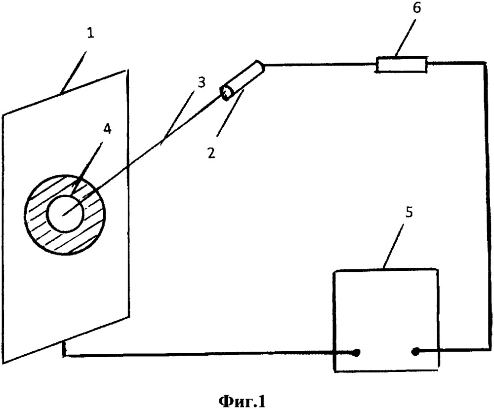 Способ и устройство предотвращения образования теплового кумулятивного канала на металлической поверхности катода и фиксации положения разрядного канала на катоде