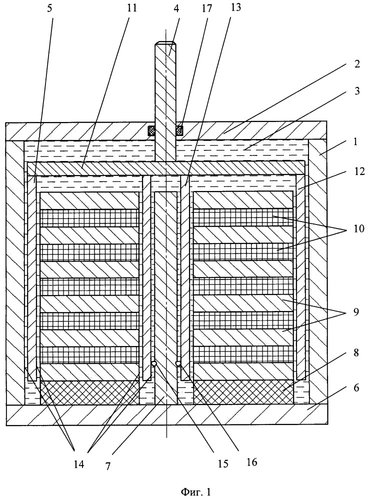 Управляемый магнитожидкостный амортизатор (варианты)