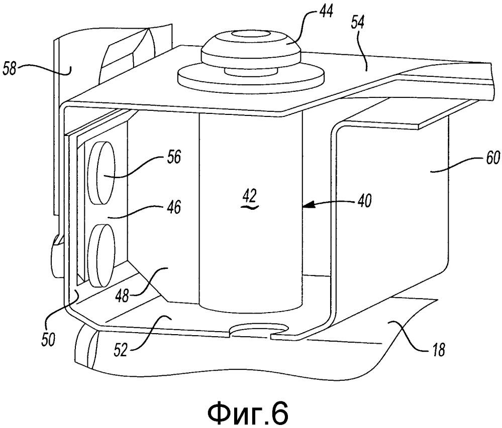 Усиливающий узел для области обвязочного бруса платформы грузового автомобиля малой грузоподъемности