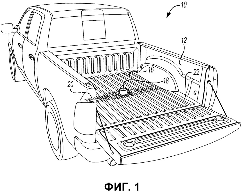Усиление для настила платформы автомобиля типа пикап и платформа автомобиля типа пикап