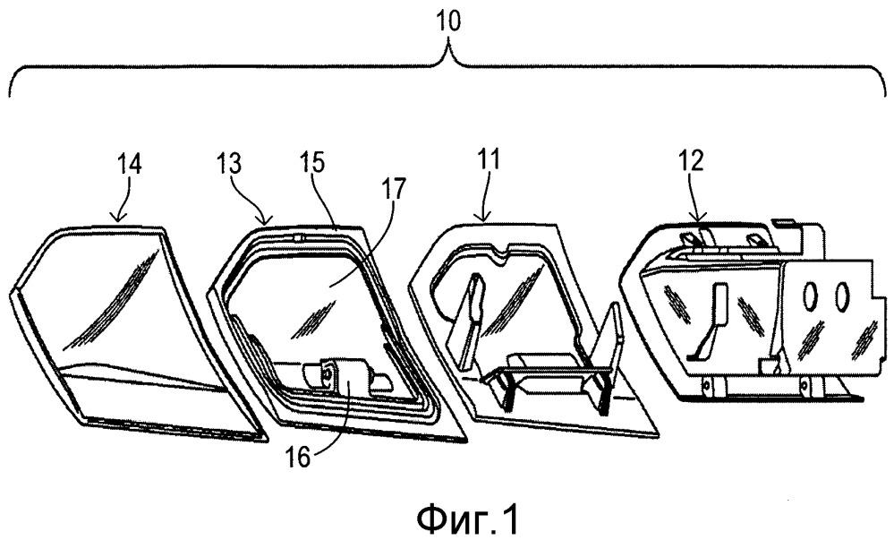 Активный буфер, надувная камера для активного буфера и активная дверца бардачка для транспортного средства