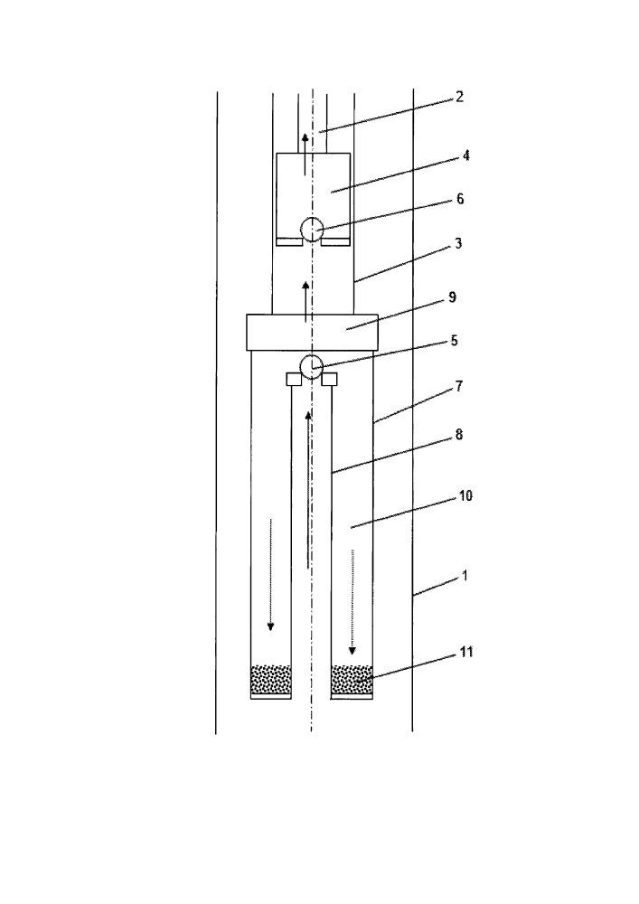 Способ эксплуатации скважины, осложненной выносом механических примесей
