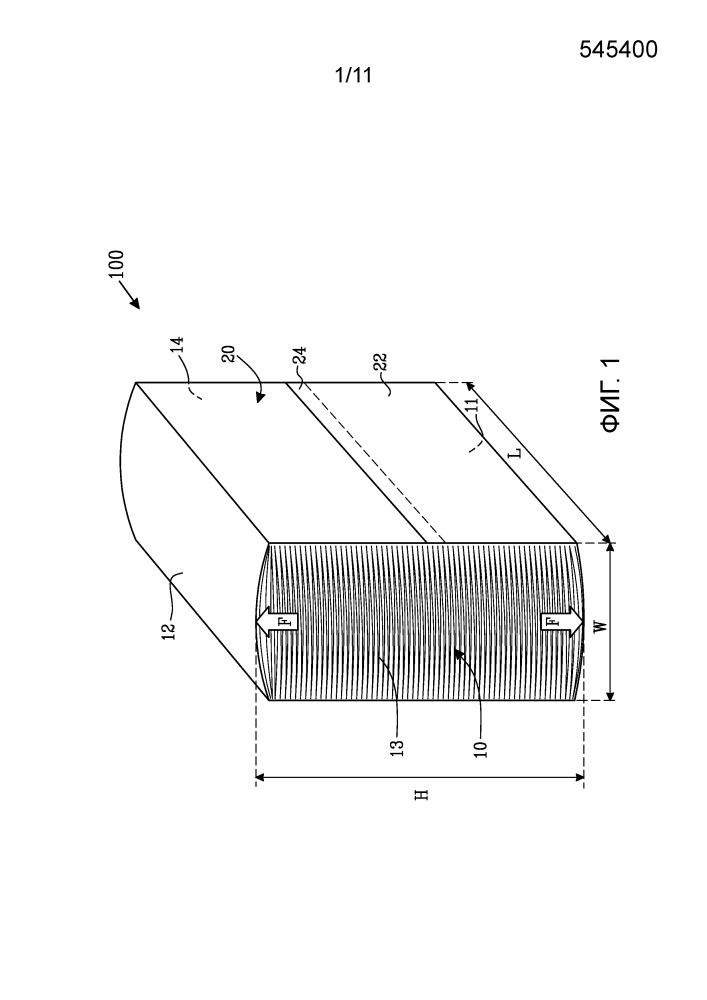 Пачка, содержащая стопку абсорбирующего бумажного материала салфеток и упаковку