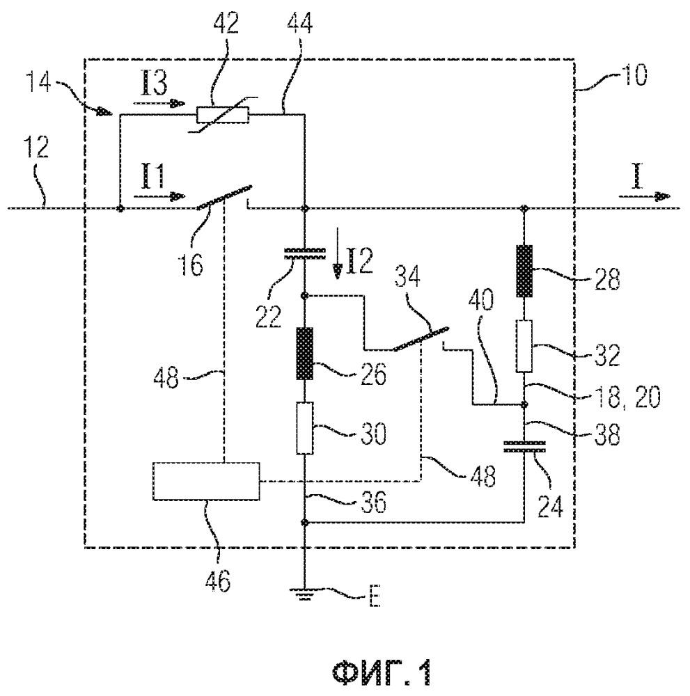 Коммутационное устройство постоянного тока и его применение