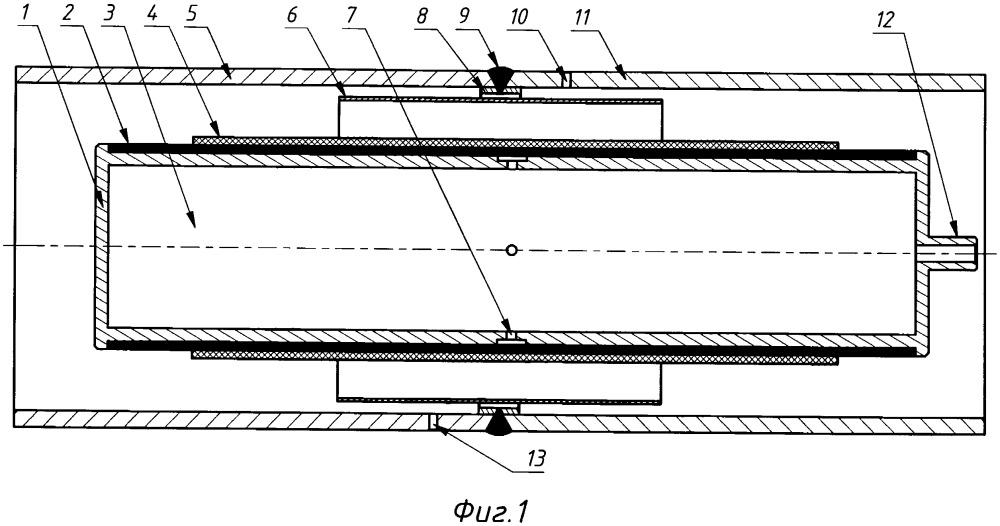 Устройство чуйко для внутренней монолитной изоляции сварного соединения трубопровода (варианты)