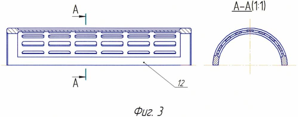 Впускной модуль газосепаратора погружного электроцентробежного насоса