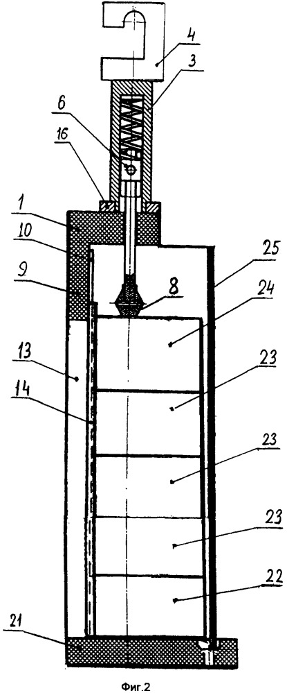 Устройство для нанесения гальванических покрытий на внутреннюю поверхность разъемных цилиндрических изделий