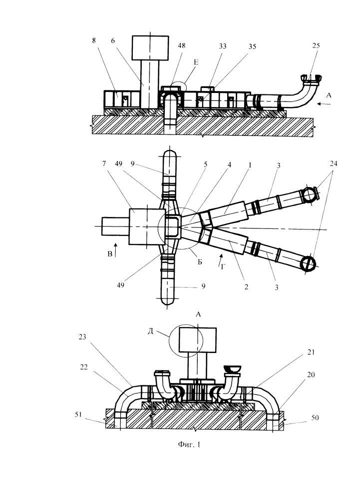Шахтная вентиляторно-калориферная установка секционного проветривания