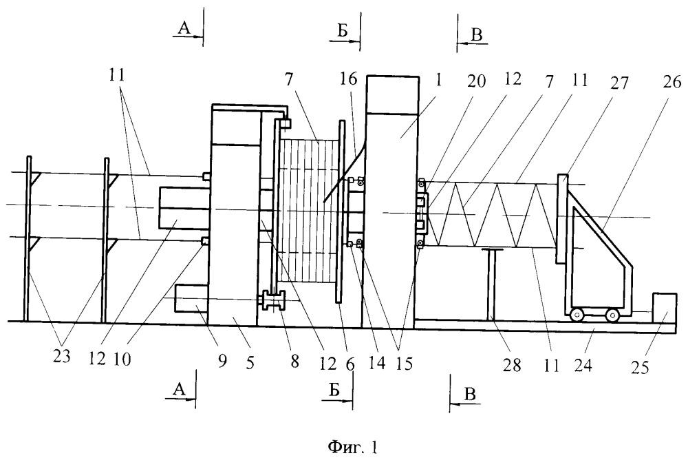 Устройство для контактной сварки пространственных арматурных каркасов