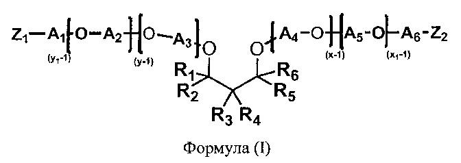 Простые полиэфирамины на основе 1,3-диспиртов