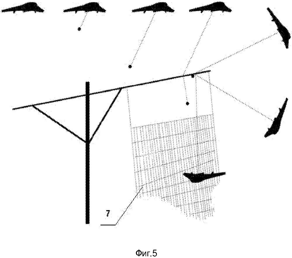 Система посадки беспилотного летательного аппарата самолетного типа