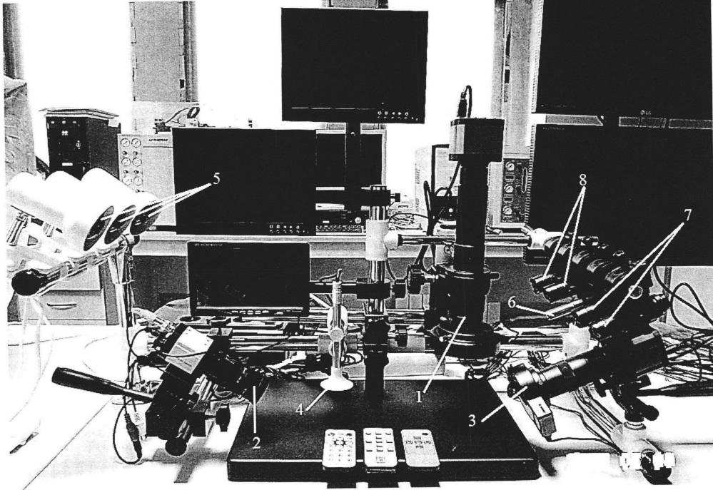 Криминалистический многофункциональный видеомикроскопический спектральный комплекс