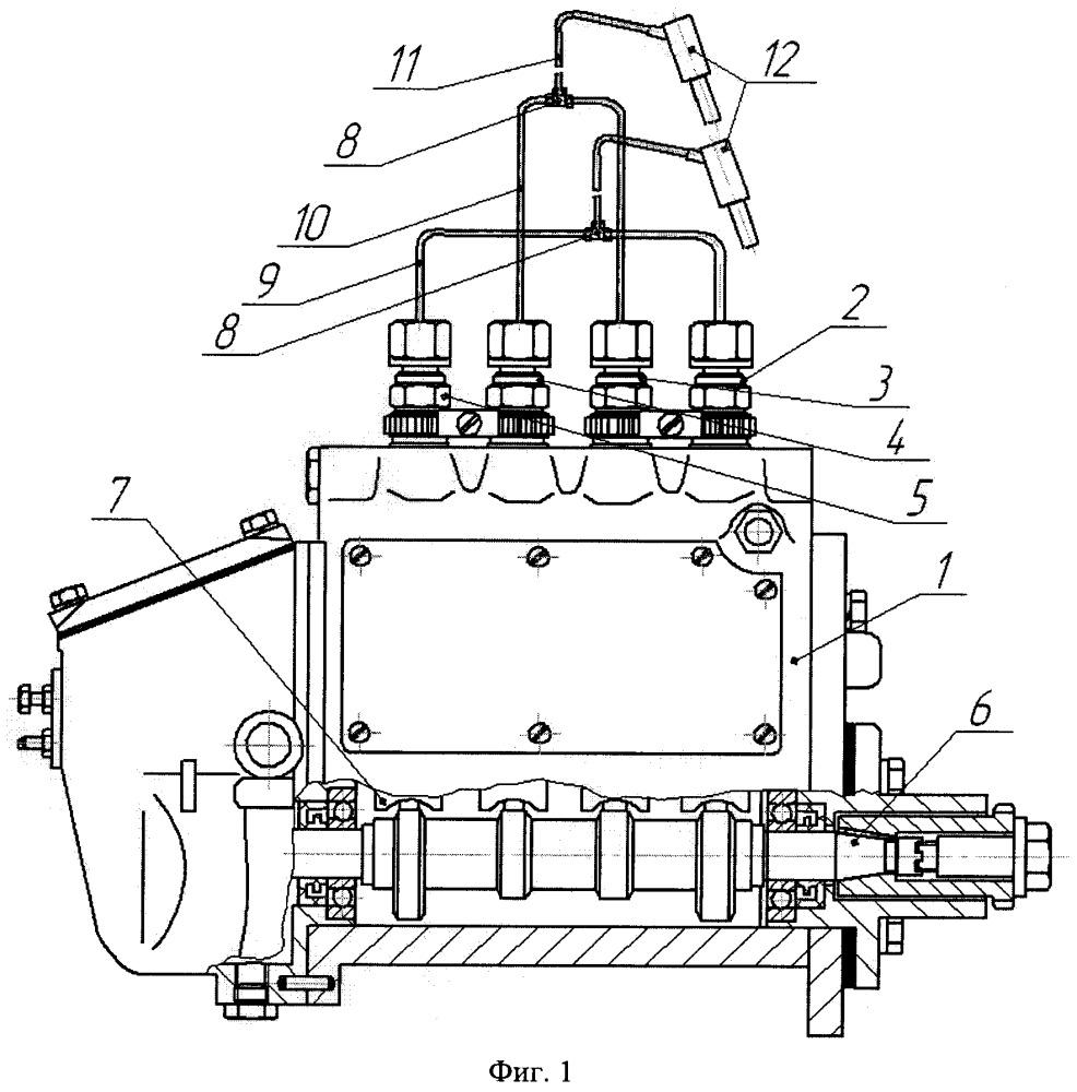 Способ ремонта топливного насоса высокого давления дизеля