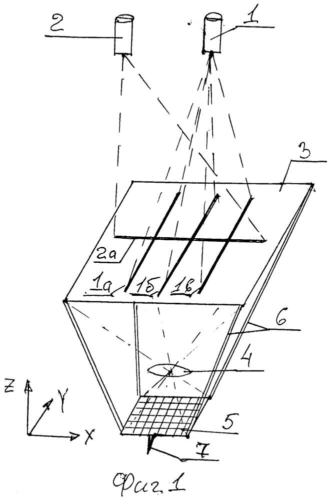 Способ измерения объемных координат перемещаемого щупа
