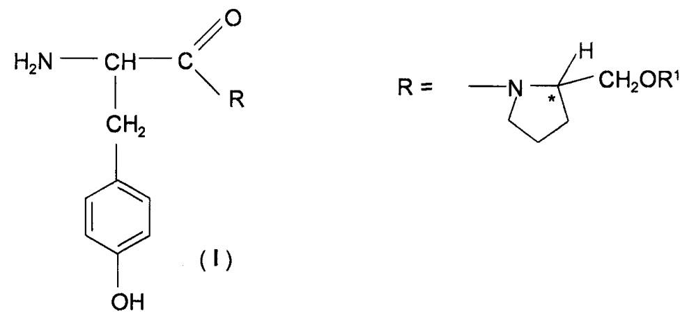 Водорастворимые производные тирозина, обладающие анальгетическим, противовоспалительным и противоотечным действием