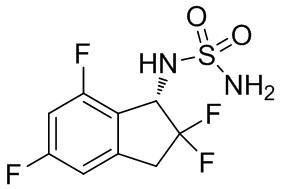 Терапевтическое и/или профилактическое средство, содержащее производное 1-индансульфамида, против боли