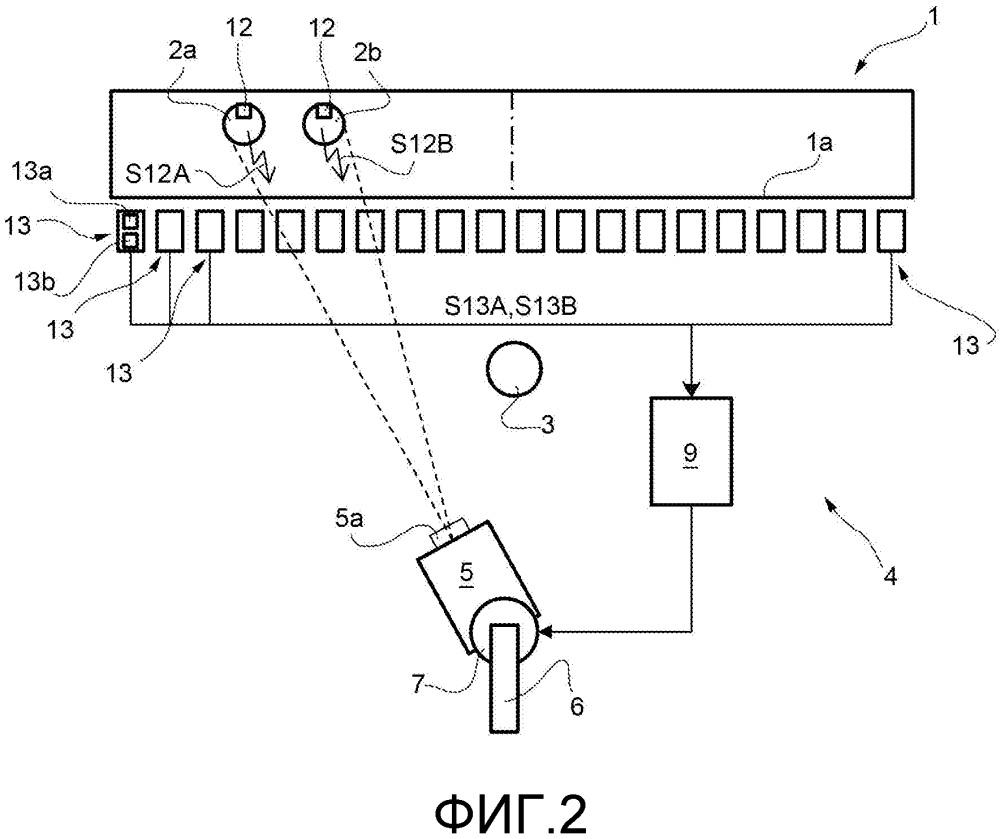 Способ для управления ориентацией мобильной видеокамеры, подходящей для съемки пары спортсменов, двигающихся по игровому полю, и соответствующая система для съемки двигающихся спортсменов