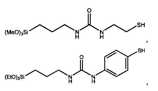 Карбамидсодержащие меркаптосиланы, способ их получения и их применение