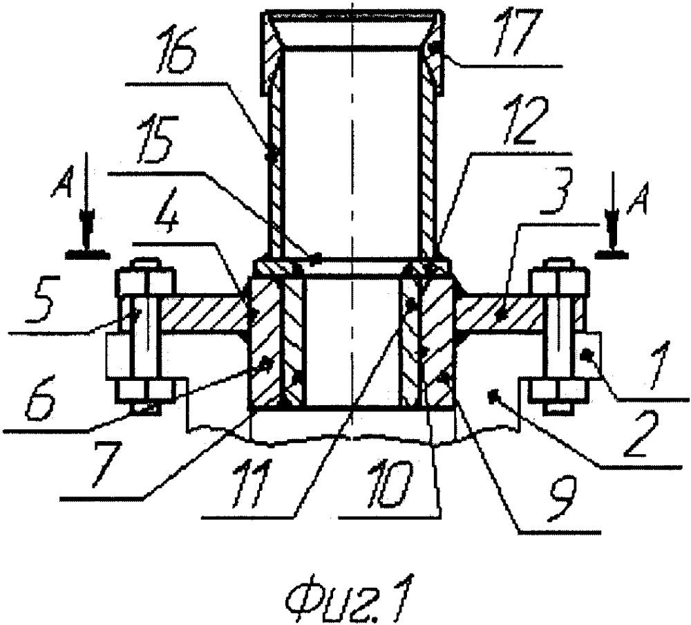 Устройство для заворота колонных головок