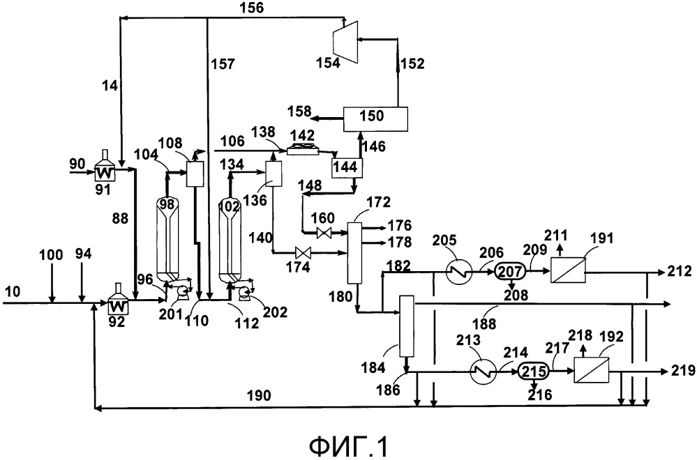 Способ конверсии нефтяного сырья, содержащий этап гидрокрекинга в кипящем слое, этап выдерживания и этап отделения осадка, для производства жидкого топлива с низким содержанием осадка