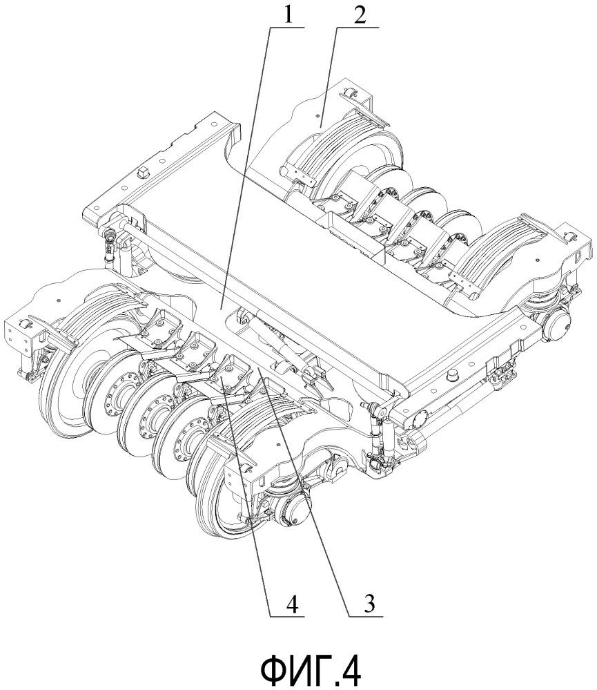 Рама тележки прицепного вагона и тележка прицепного вагона, имеющая такую раму