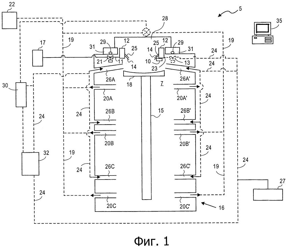 Способ и устройство для литья с прямым охлаждением