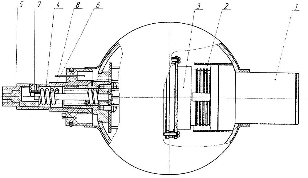 Приемник имитатора боевых средств переносного зенитного ракетного комплекса