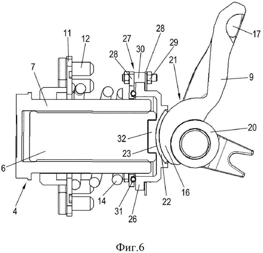 Дисковый тормозной механизм для транспортного средства в частности для грузового автомобиля