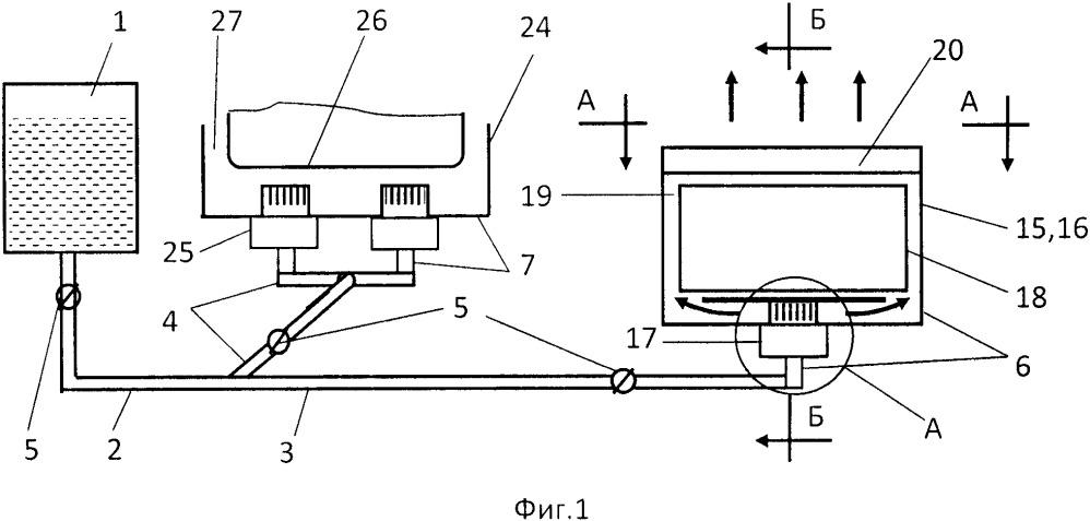 Устройство для предпускового обогрева стационарного двигателя внутреннего сгорания