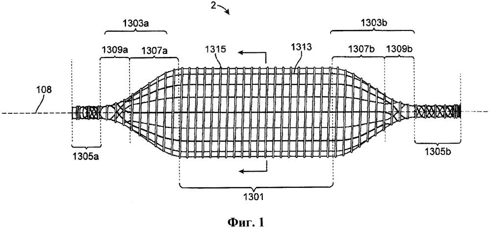 Надувные медицинские баллоны с непрерывной намоткой волокна