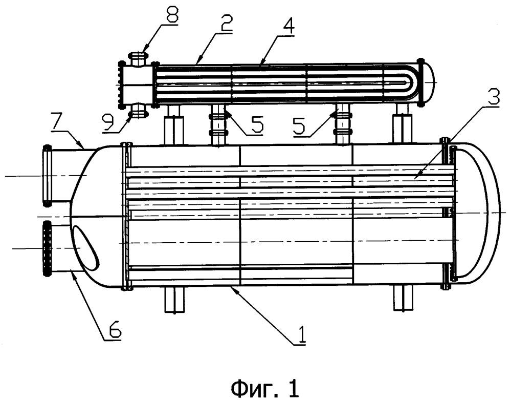 Путевой подогреватель потока углеводорода