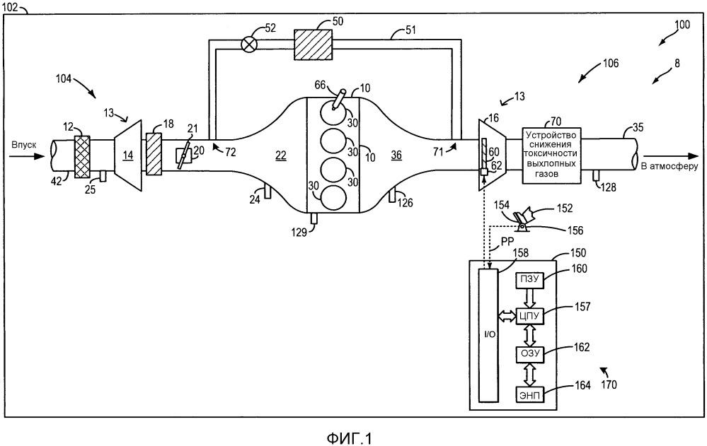 Способ работы системы двигателя (варианты) и система двигателя
