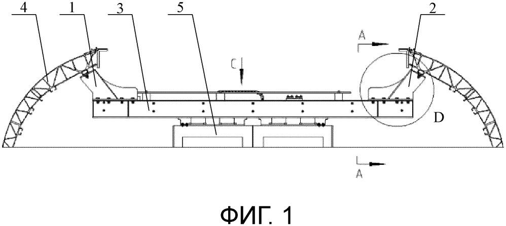 Железнодорожное транспортное средство и механизм установки внутренней торцевой входной двери
